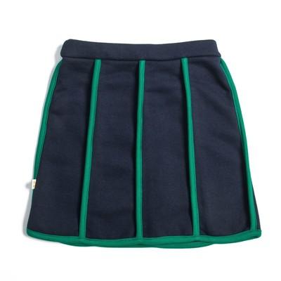 Юбка для девочки, рост 92 см, цвет синий/зелёный Юб-023.1_М