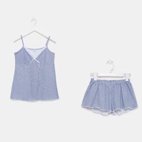 Пижама женская (майка, шорты) 555 цвет микс, р-р 44
