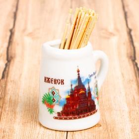 "Magnet-mug with toothpicks ""Izhevsk"""