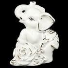 """Сувенир """"Слонёнок с розой"""" МИКС 10,5х8,5х4,5 см"""