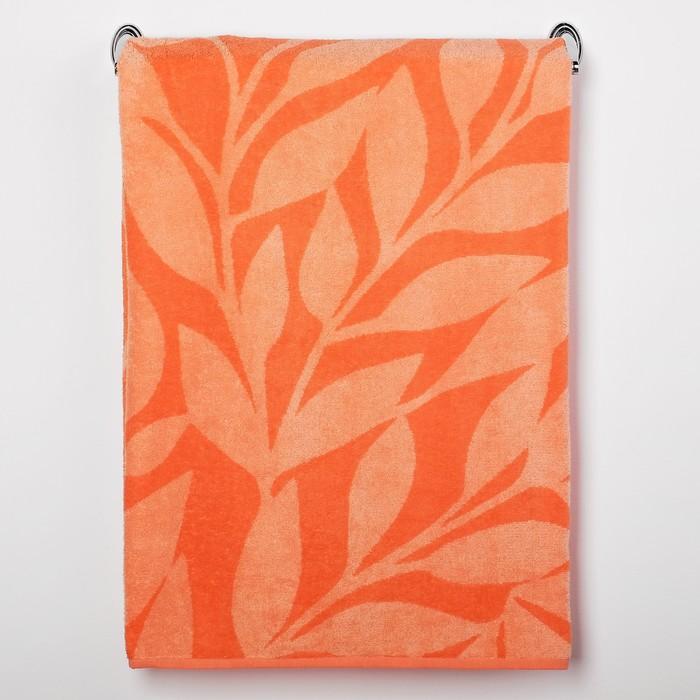 Полотенце махровое Peach color ПЛ-1202-03087, 100х150, цв. 10000, персик, хл.100%, 360 гр/м   301858