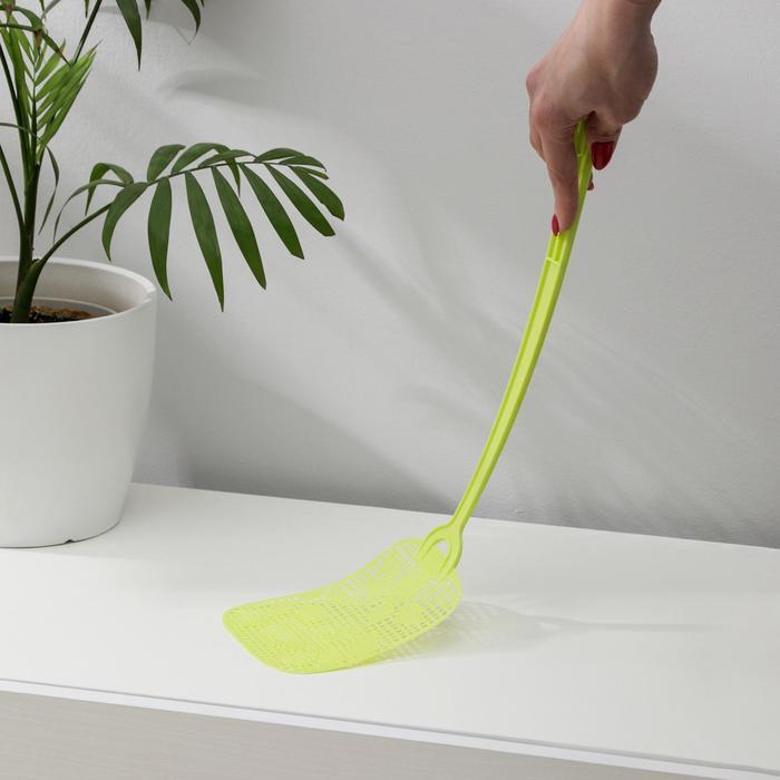 """Мухобойка 45×12.5 см """"Орхидея"""", цвет МИКС"""