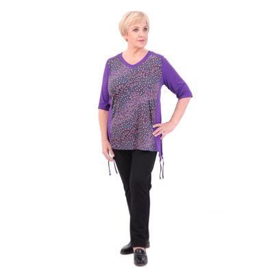 Туника женская, размер 62, цвет фиолет 213В899