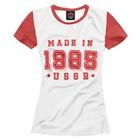 Футболка женская Made in USSR, размер L DVP-711806
