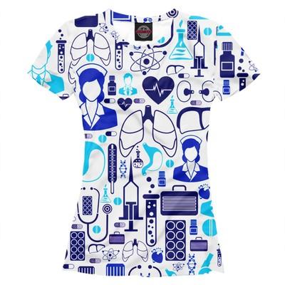 "Футболка женская ""Медицина"", размер XL VRC-838089"