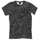 Футболка мужская Black Texture, размер S ABS-348073