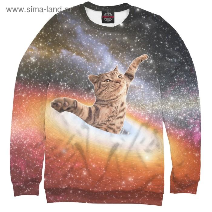 """Свитшот женский """"Кот в космосе"""", размер XS APD-512186"""