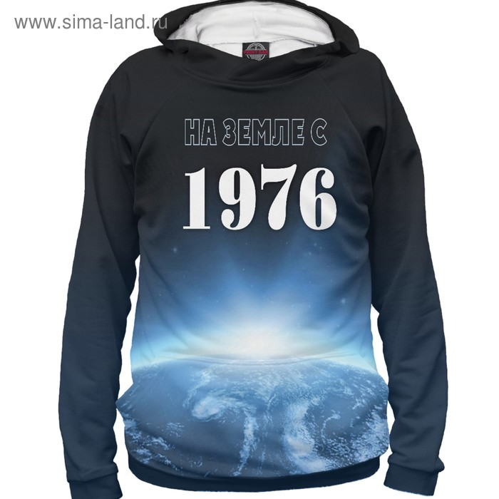"""Худи женское """"На Земле с 1976"""", размер M DSS-702221"""