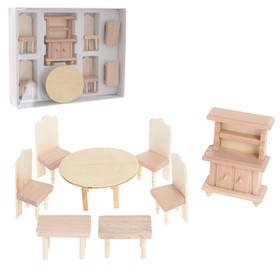 A set of furniture for dolls, MIX 4 kinds
