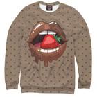 """Свитшот женский """"Шоколадные губы"""", размер XXL POP-851917"""