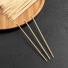 Набор шампуров деревянных 15 см, d=3 мм, 85-90 шт - фото 308014461