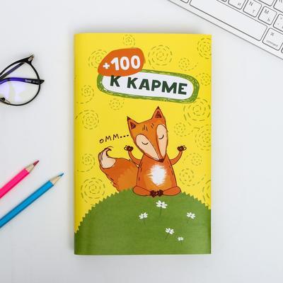 Обложка для книг «+100 к карме», 17 х 33 см