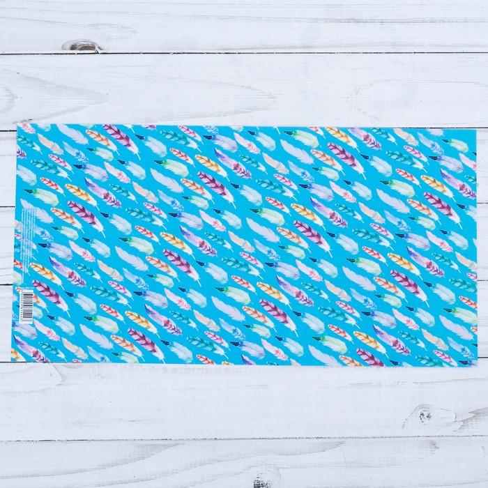 Обложка для книг «Перья», 17 х 33 см