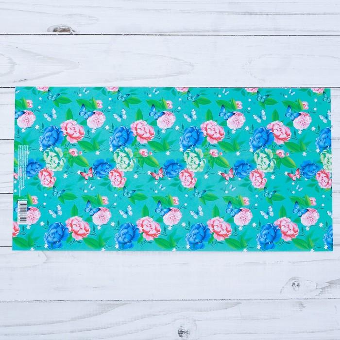 Обложка для книг «Цветы», 17 х 33 см