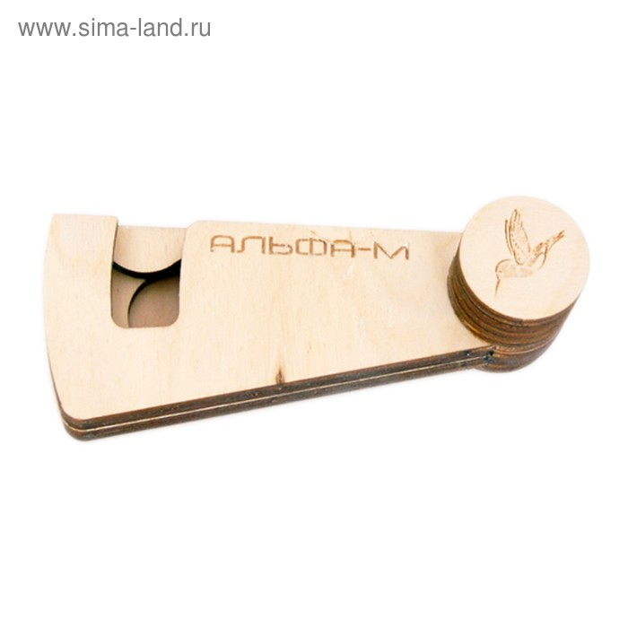 Чехол деревянный для варгана Альфа мини