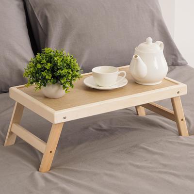 """Столик для завтрака складной, 50×30см, цвет орех сонома, """"Добропаровъ"""""""