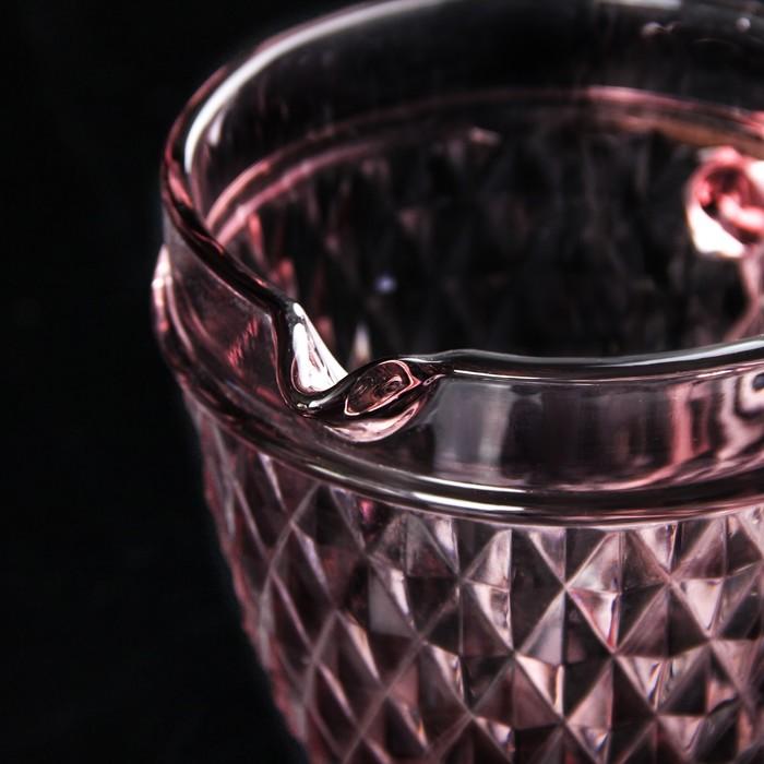 """Кувшин 1,1 л """"Элегия"""", цвет розовый"""