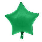 """Шар фольгированный 18"""" """"Звезда"""", цвет зелёный"""