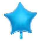 """Шар фольгированный 18"""" """"Звезда"""", цвет синяя"""