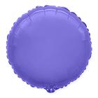 """Шар фольгированный 18"""" «Круг», цвет фиолетовый"""