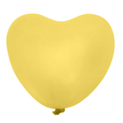 "Latex balloon 36"" ""Heart"", the color yellow"