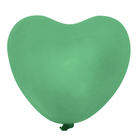 "Latex balloon 36"" ""Heart"", green"