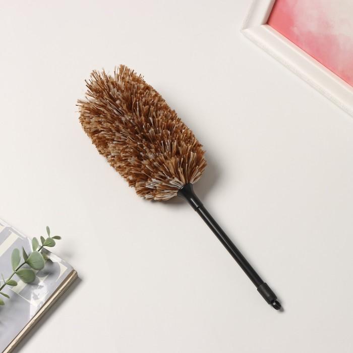 Щётка для удаления пыли Долна, 30 см, ручка 16 см - фото 4646642