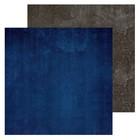 Фотофон двусторонний «Синий‒серый», 45 × 45 см, переплётный картон, 980 г/м