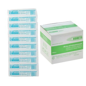 Sterile injection needle 23G 0.6x25mm.