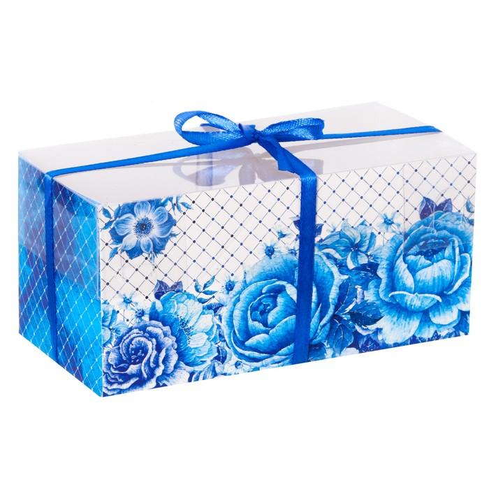 Коробка для капкейка «Для вдохновения!», 8 × 16 × 7,5 см