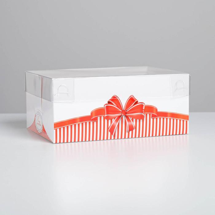 Коробка для капкейка «С Любовью», 16 × 23 × 10 см