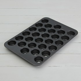 """Baking """"Jacqueline. Circle"""", nonstick with removable bottom, 28 cells"""