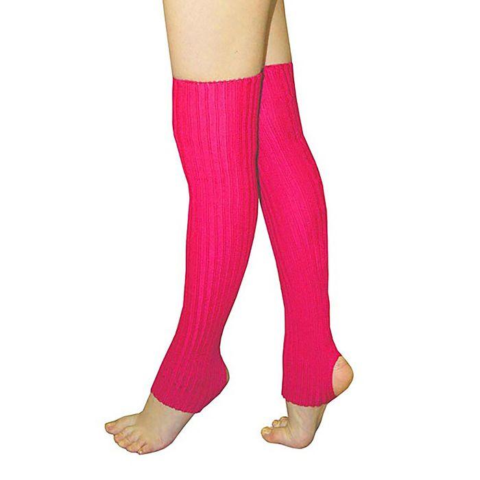 Гетры «Танцующие», L=50 см, цвет малиновый