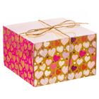 Коробка для капкейка «Моя тебе любовь» 16 х 16 х 10 см
