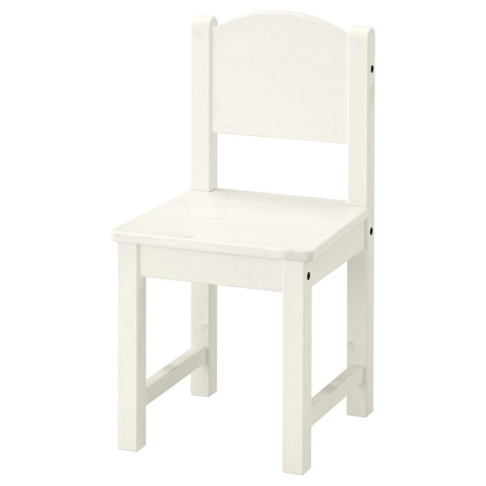 Детский стул СУНДВИК, белый