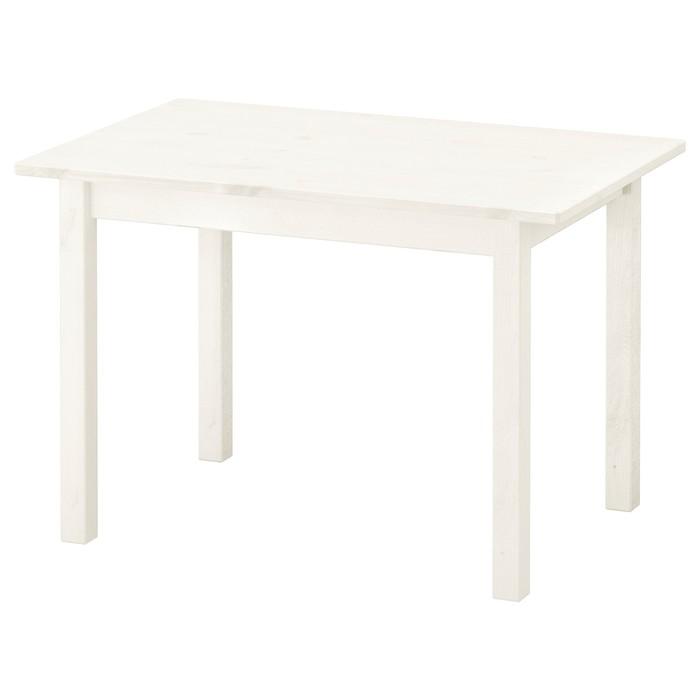 Стол детский СУНДВИК, 76x50 см, белый