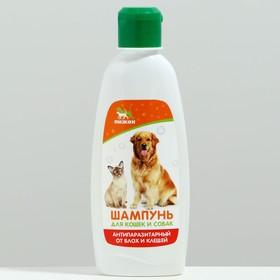 Шампунь 'Пижон' антипаразитарный от блох и клещей, для кошек и собак, 250 мл Ош