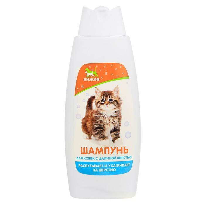 """Шампунь """"Пижон"""" распутывающий для кошек с длинной шерстью, 250 мл"""