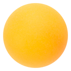 The ball for table tennis of 40 mm, color orange