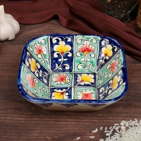 Салатница Риштанская Керамика 14см микс