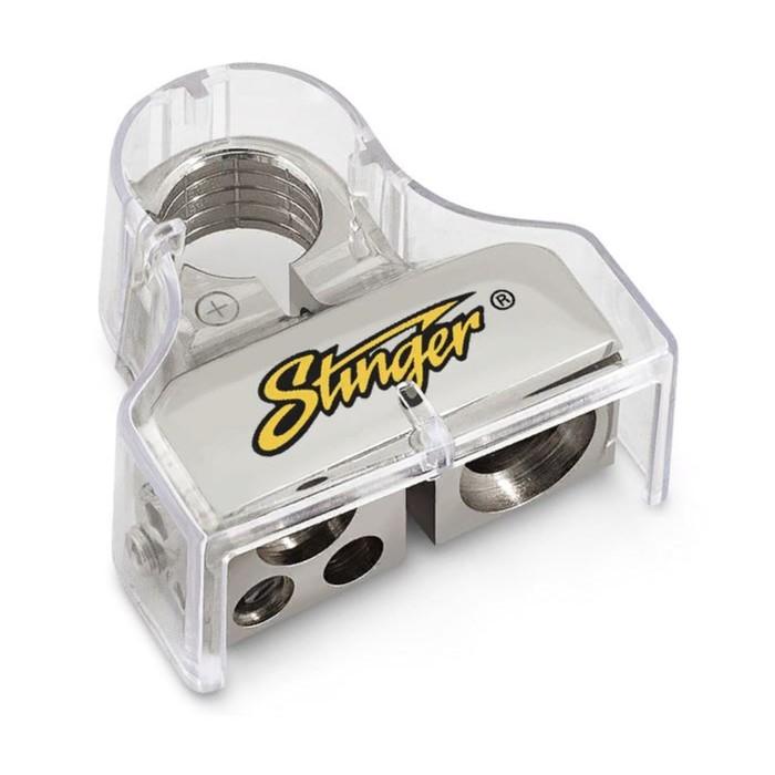 Аккумуляторная клемма Stinger SPT53102, 1×0-2 Ga, 1×4 Ga, 2×8 Ga