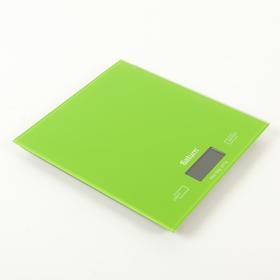 Кухонные весы Saturn ST-KS7810, до 5 кг, зеленый Ош