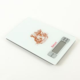 Кухонные весы Saturn ST-KS7235, до 7 кг, коричневый Ош