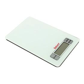 Кухонные весы Saturn ST-KS7235, до 7 кг, белый Ош