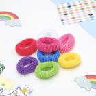 """Резинки для волос """"Махрушка"""", разноцветные (набор 100 шт.), d = 2.5 см"""