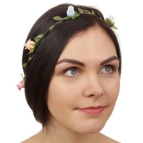 Декор для волос, вплетаемый «Цветы»