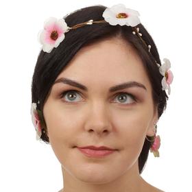 Декор для волос, вплетаемый «Майский букет»