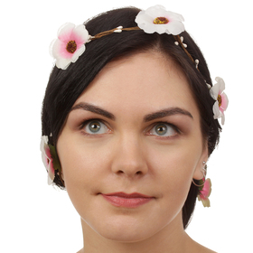 Декор для волос, вплетаемый «Майский букет» Ош