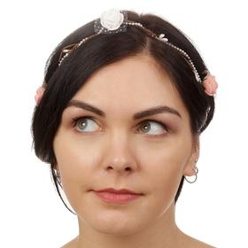 Декор для волос, вплетаемый «Розы мечты»