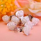 """Кольцо детское """"Выбражулька"""" роза чудесная, безразмерное, цвет белый"""
